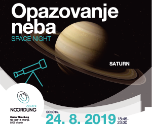 Noordung center - Space night - Saturn 24-8-2019