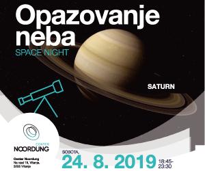 Noordung center - Space night - Saturn 24-8-2019
