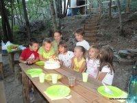 Praznovanje rojstnega dne v Soča fun parku.